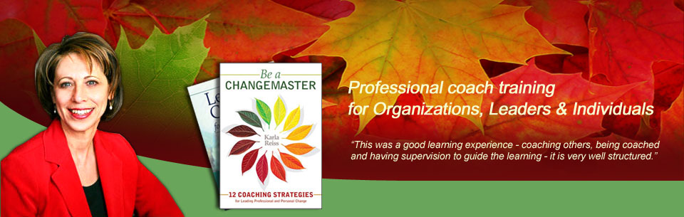 Professional coach traing for organizations, leaders and individuals
